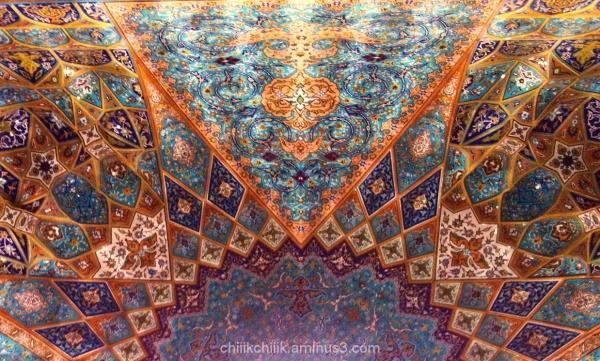 Holyshrine iranian architecture postcards2014
