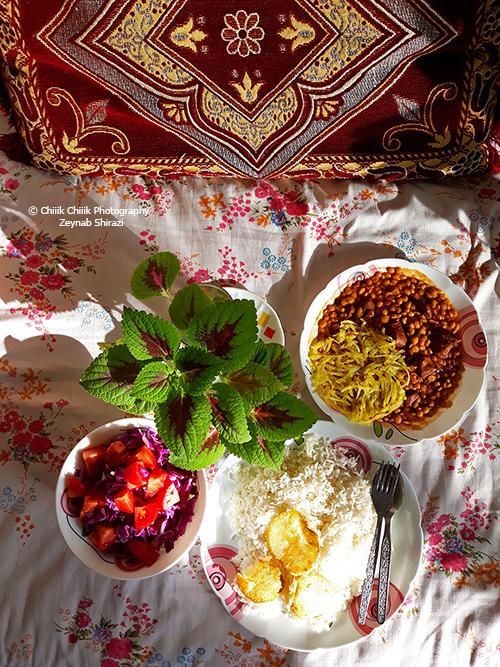 persian food, persian cuisine, zeynabshirazi