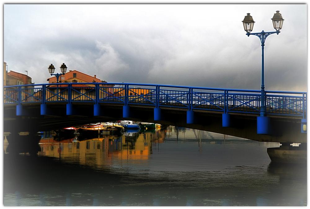 Le pont bleu...Martigues