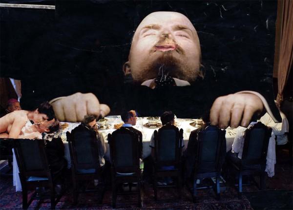 collage  Lenin