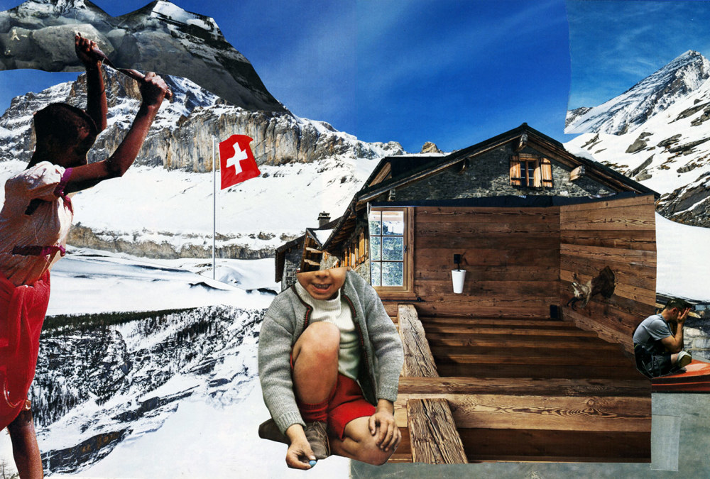 collage on Swiss way of life