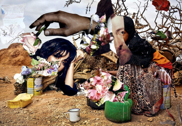 collage on paradise