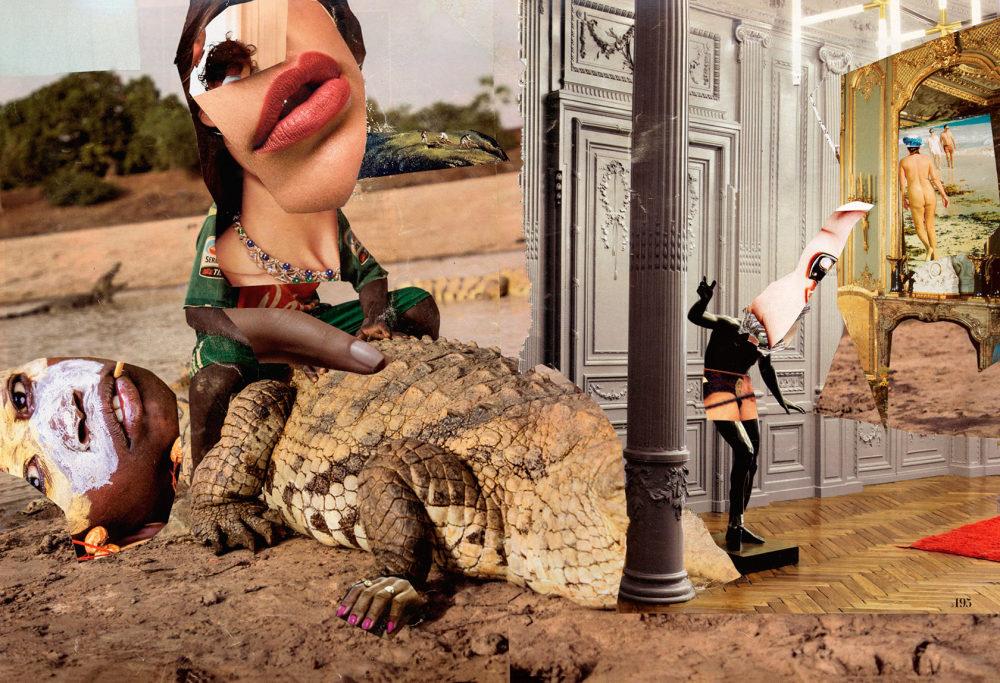 collage mythologie Nile