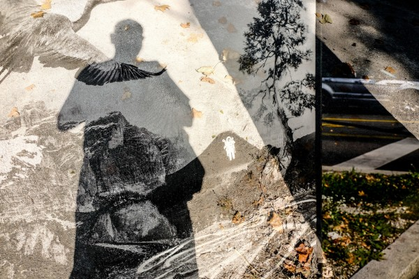 double exposure ombre