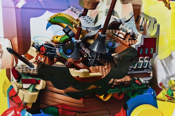 bâteau de pirate lego