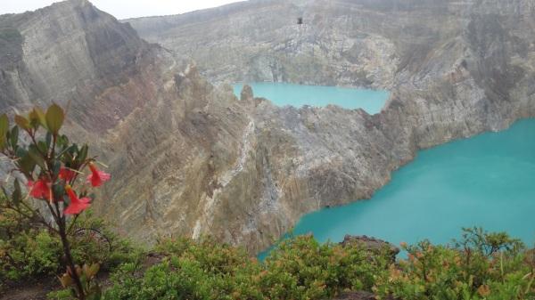 Keli Mutu: la montagne des esprits