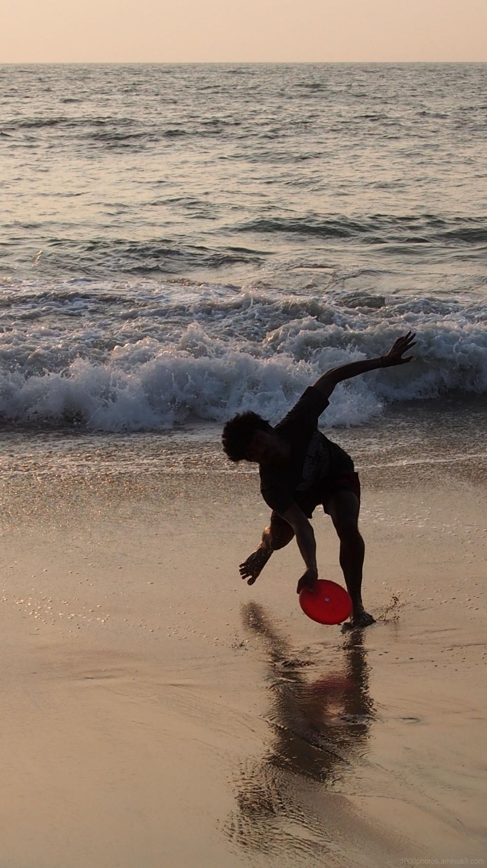 Le lanceur de Freesbee -2-
