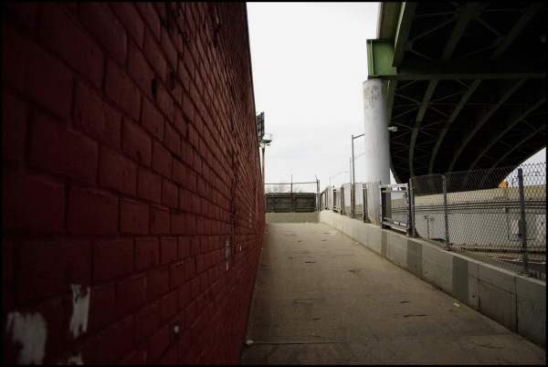 Red Hook, New York City, perspective