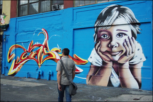 Graf à 5-pointz, Queens, New York