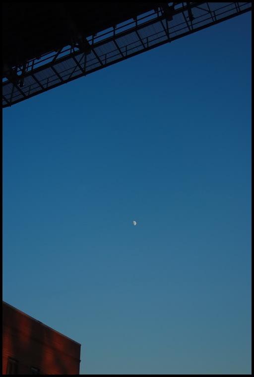 La lune par dessus tout