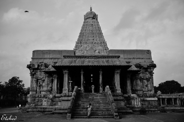 In for a Divine Moment, at the 'BIG' Temple