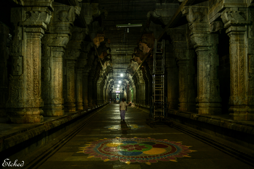 In search of Divinity.. Ekambareshwarar Temple