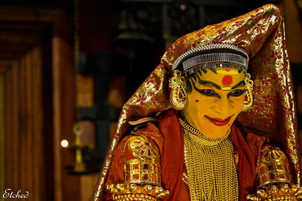 Very expressive ART form   Kathakali