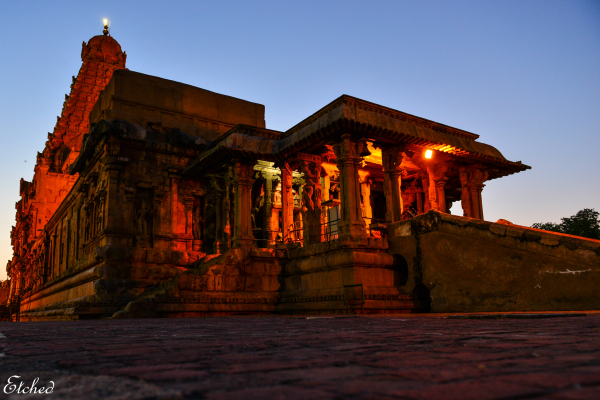 Golden glow of the Majestic 'BIG TEMPLE'
