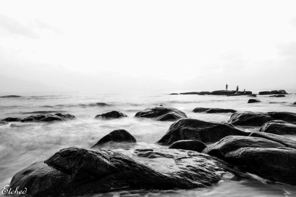 Rocky Shores of Kovalam