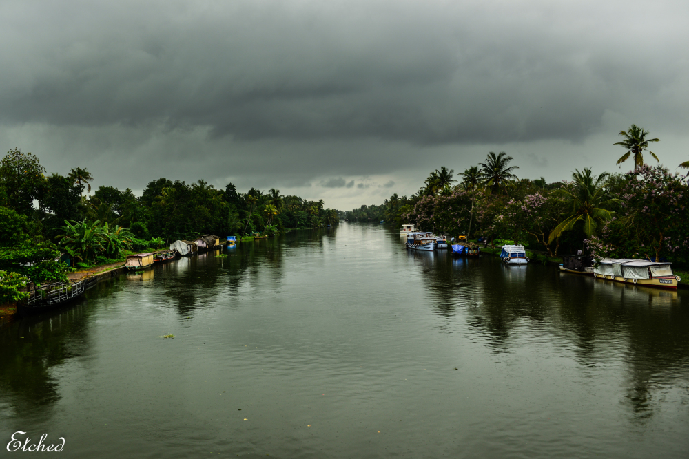 House boats of Kumarakom