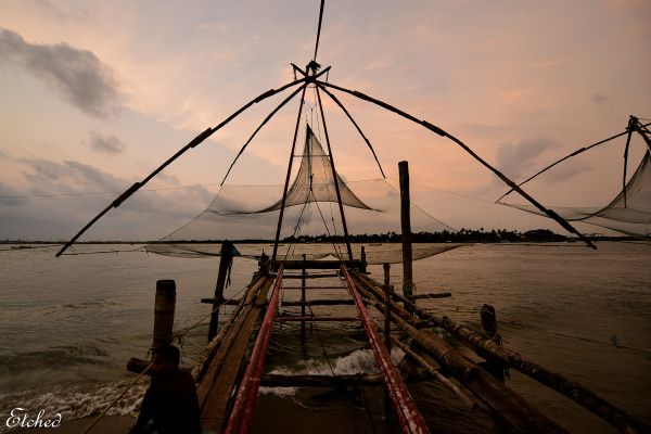 Fishing net at Fort Cochin