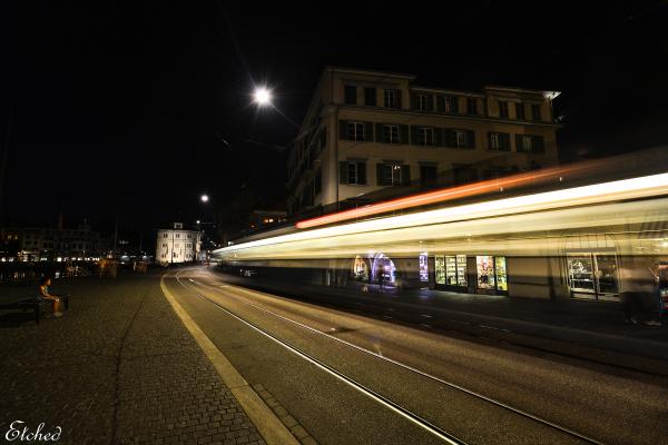 A night at Zurich