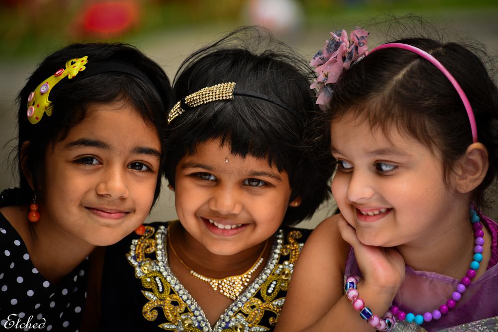 Three little Princess