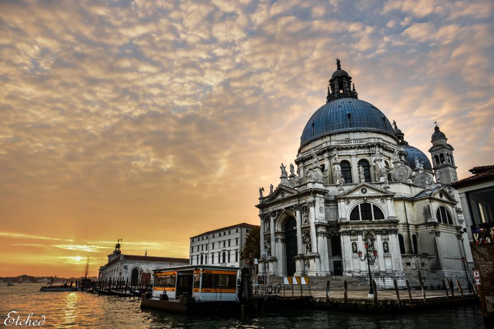 'Santa Maria della Salute' church at Venice