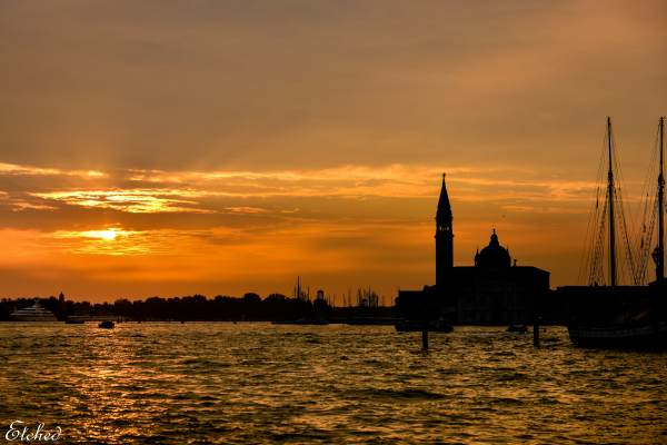 Silhouettes of Venice