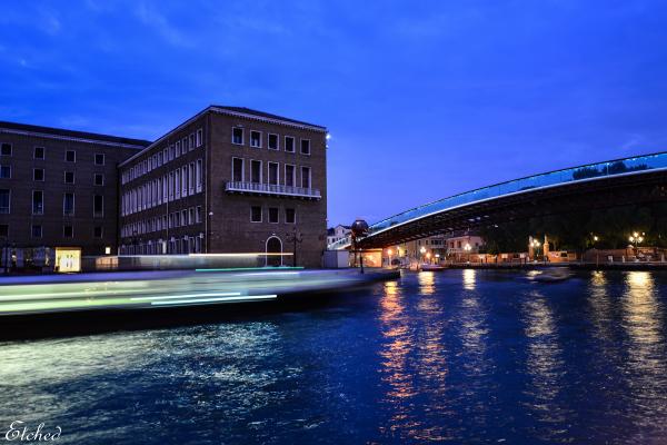 Morning blues at Venice