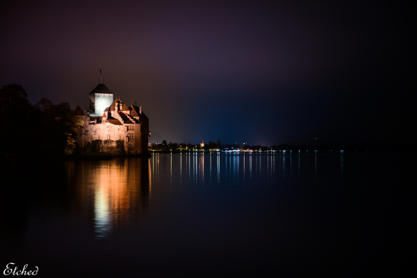 Chillon Castle, A different perspective