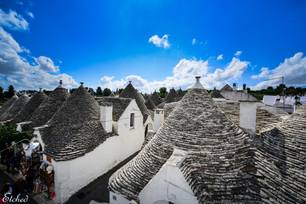 Trullis at Alberobello