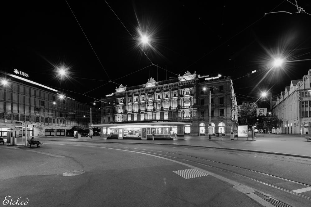 A fine night at Zurich