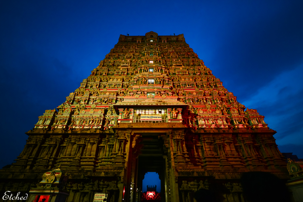 The Grandeur and Glow of the ancient architecture.