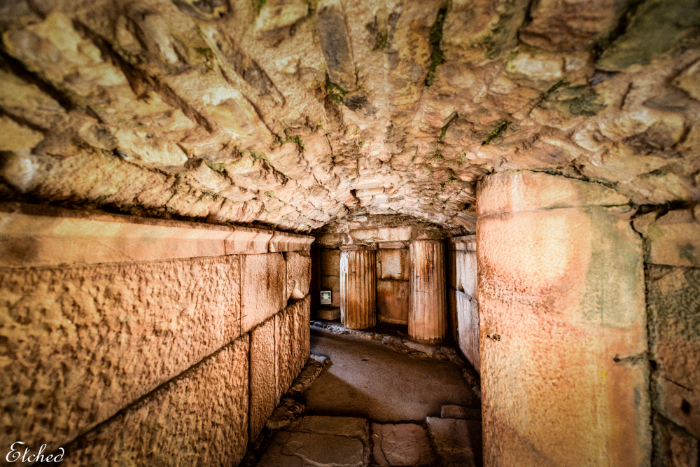 Entry into the Ephesus arena