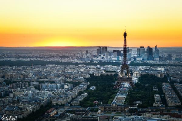 Eiffel in its glory..