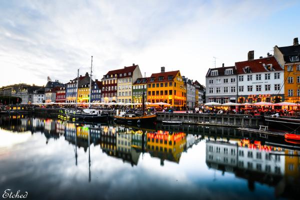 A fantastic evening at Copenhagen..