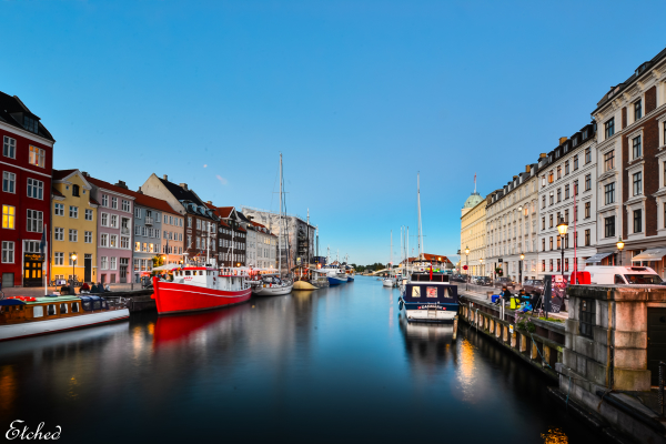 Colors of Copenhagen..