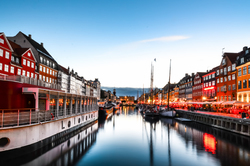 Sunset at Copenhagen