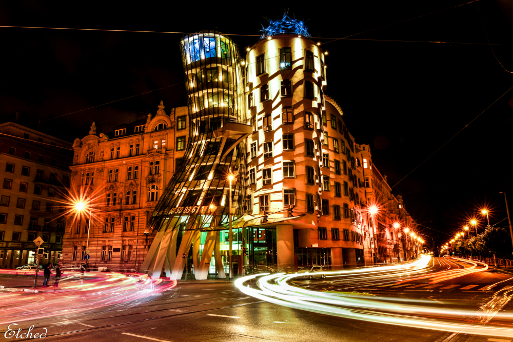 Dancing building @ Prague