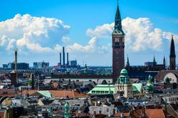 Beautiful city of Copenhagen