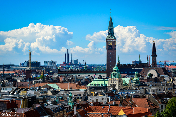 Beautiful city of Copenhagen