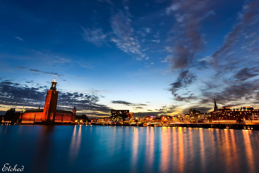 Beautiful city of Stockholm