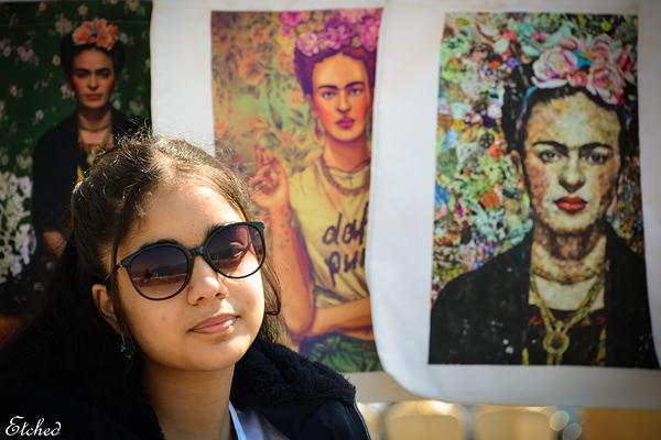 My very own Frida Kahlo
