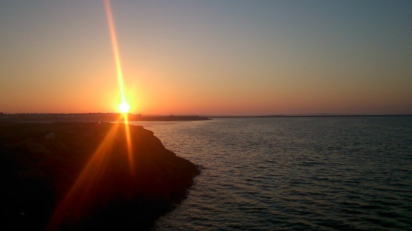 Sunrise over Galway Bay Ireland
