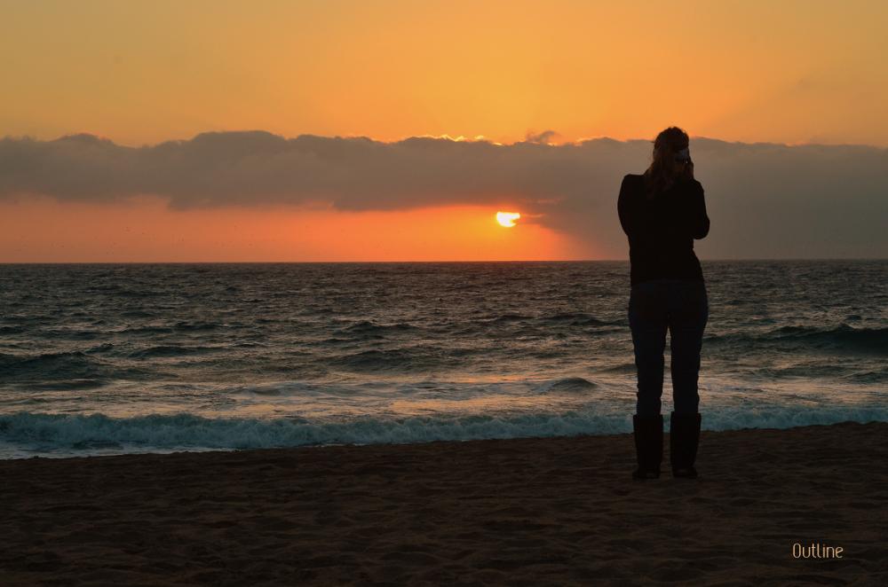 Framing the Sunset!