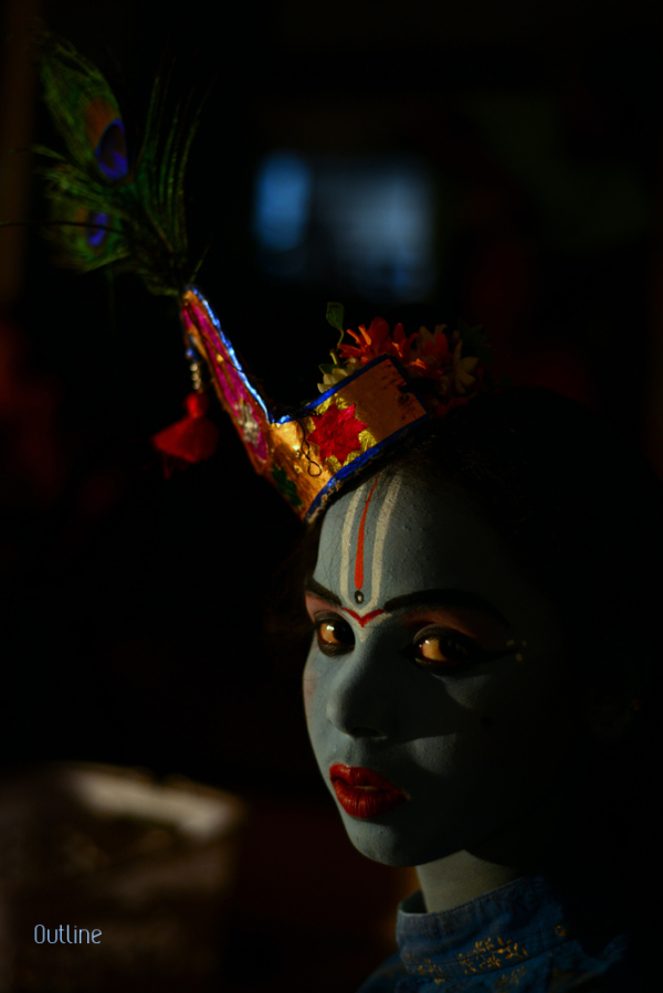 Set to play Krishna