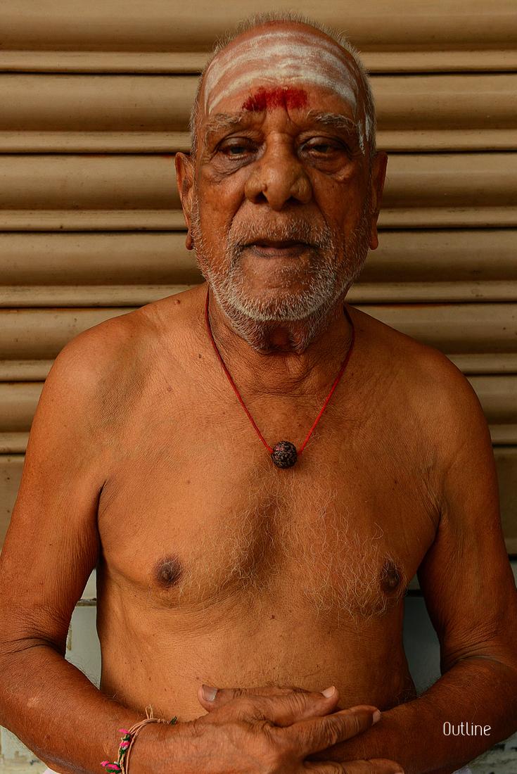Priest in Madurai
