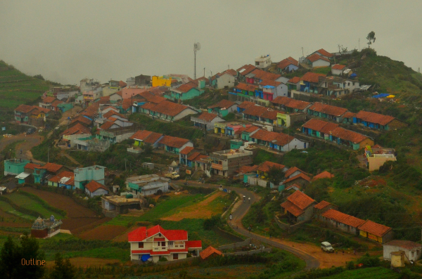 Colorful township