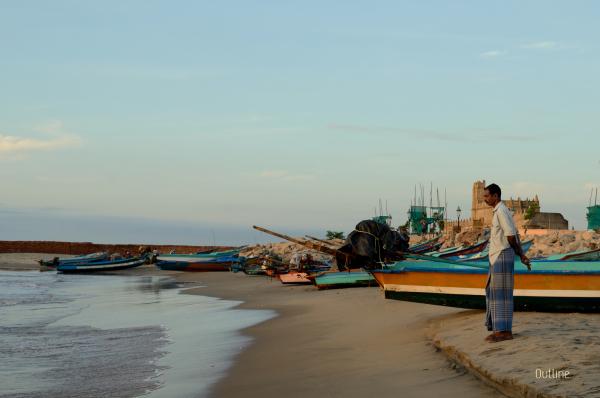 Fisherman at Tranquebar