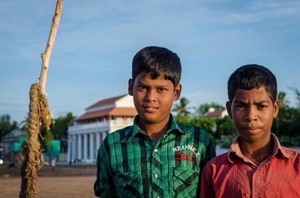 Boys at Tranquebar