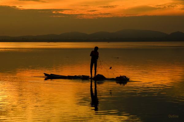 Kolavai fisherman