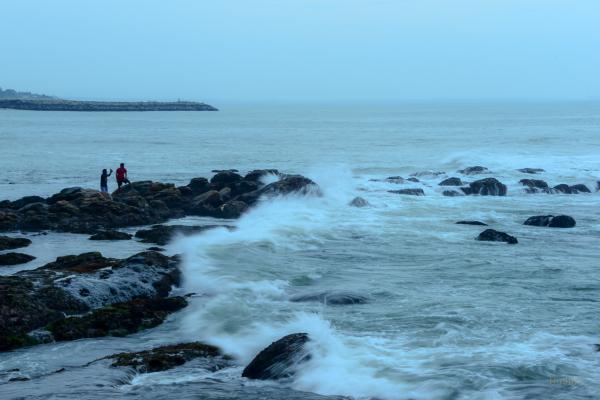 Kanyakumari at dusk...