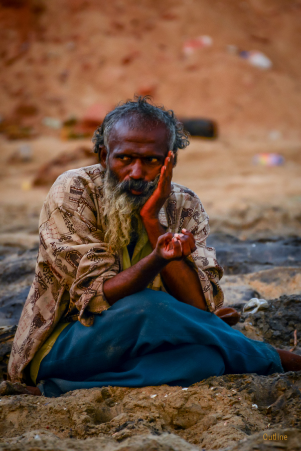 Man at Thazhankuppam